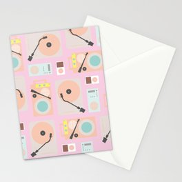 Music Lover Pastel Stationery Cards
