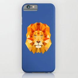 Lion, The King of the Jungle iPhone Case
