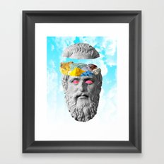 Rocky Intent Framed Art Print