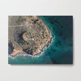 Point Dume Malibu Metal Print