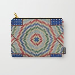 Americana Quilt Carry-All Pouch
