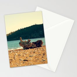 Rocks On The Wood Stationery Cards