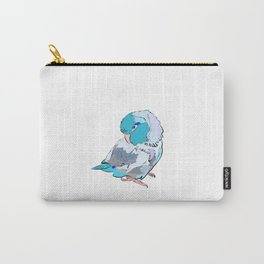 baby blue parrotlet Carry-All Pouch