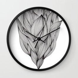 Luchtbloem Wall Clock