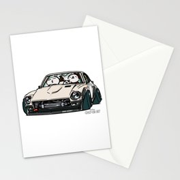 Crazy Car Art 0155 Stationery Cards