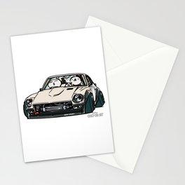 Crazy Car Art 0155 Stationery Cards