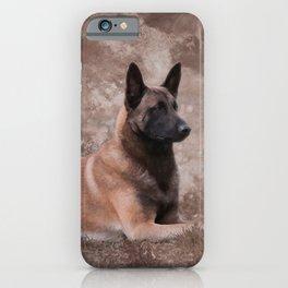Malinois  Belgian shepherd - Mechelaar iPhone Case