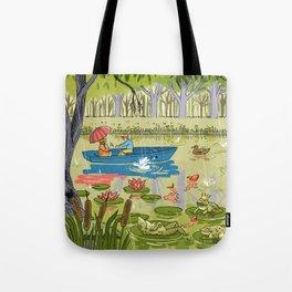 Rain Garden Tote Bag