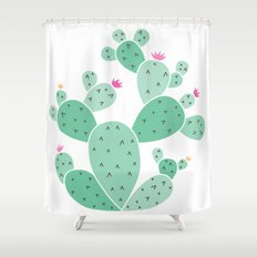 cactus Shower Curtain