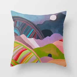 Landscape Study #1 Throw Pillow