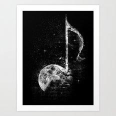 Melodie de la Lune Art Print