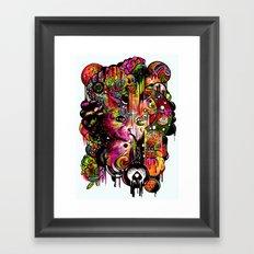 Amygdala Malfunction Framed Art Print