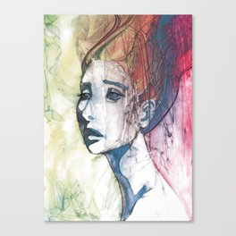 up do Canvas Print