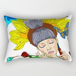 Summer goodbye Rectangular Pillow