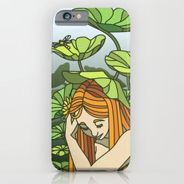 Lotus Capped iPhone Case