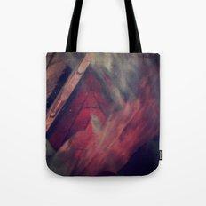 Pyramid Ablaze  Tote Bag