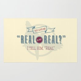 Read or Not Real Rug