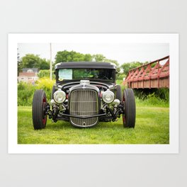 Ford Hot Rod Art Print