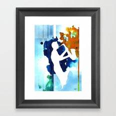 Sax Machine Framed Art Print