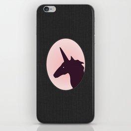 UNICORN SILHOUETTE ~ pink iPhone Skin