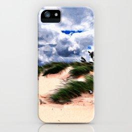 Sandy Beach Dune Grass iPhone Case