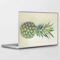 pineapple Laptop & iPad Skins featuring Pineapple by Cassia Beck