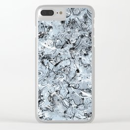 Defying the White Monster Clear iPhone Case