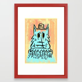 Wolf man!  Framed Art Print