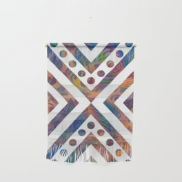 Geometric Crossover Wall Hanging