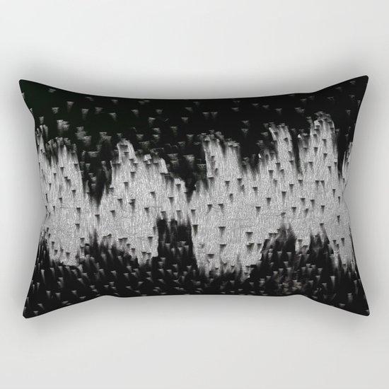 The Battle Of Contrast Rectangular Pillow