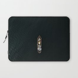 Iceland Ship from Above - Ocean Photography Laptop Sleeve