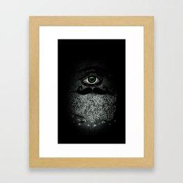 Money Grabber Framed Art Print
