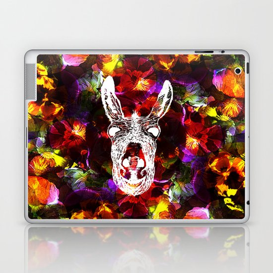Wonky Donkey Flower  Laptop & iPad Skin