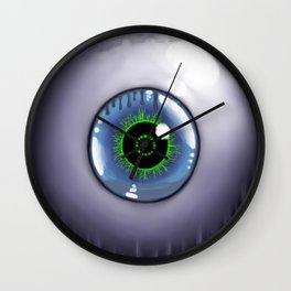 The City Is Watching Wall Clock