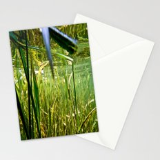 Submerged Grass Stationery Cards