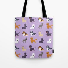 SCOTTISH DOGS Tote Bag