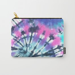 Blue Tie Dye Carry-All Pouch