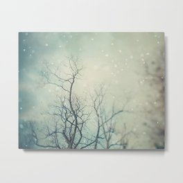 Winter Poem  Metal Print