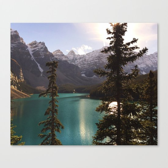 Reflections / Landscape Nature Photography Canvas Print