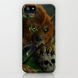 Evocation of the beast iPhone Case