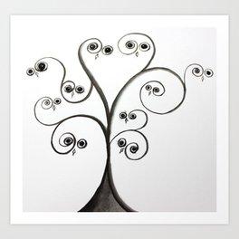 owltree Art Print
