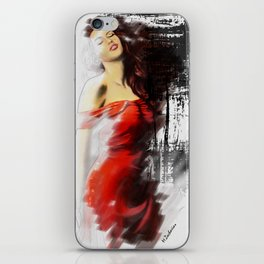 Beautiful Muse iPhone Skin