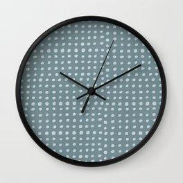 Slate x Dots Wall Clock