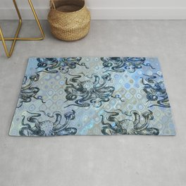 Octopus Family Rug