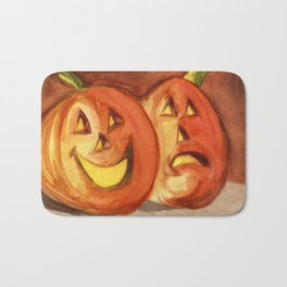 Jack-O-Lanterns Bath Mat