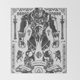 Legend of Zelda Ganondorf the Wicked Throw Blanket