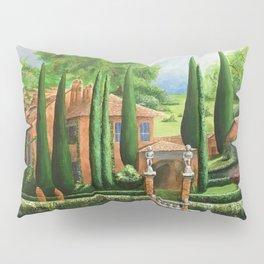Villa of Lago d' Como Pillow Sham