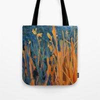 kansas Tote Bags featuring Kansas Prairie  by Brian Timmer Art