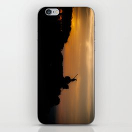 The Sun at His Back iPhone Skin