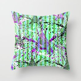 Scorpion Fish menace Throw Pillow